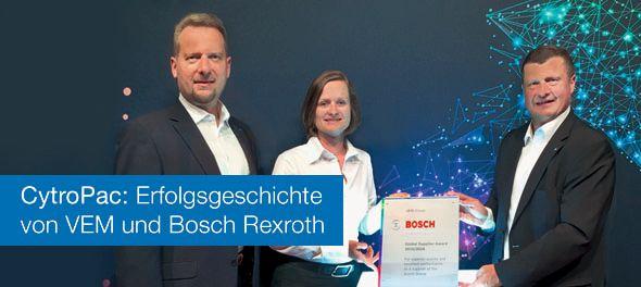 CytroPac: Erfolgsgeschichte von VEM und Bosch Rexroth