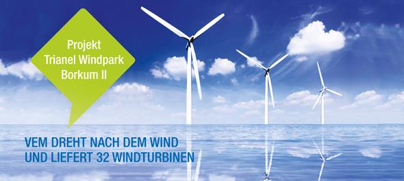 Projekt Trianel Windpark Borkum II
