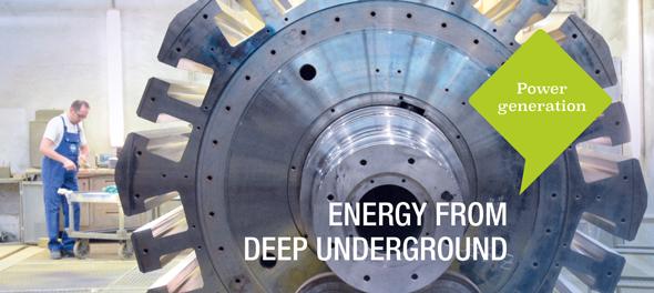 Energy from deep underground